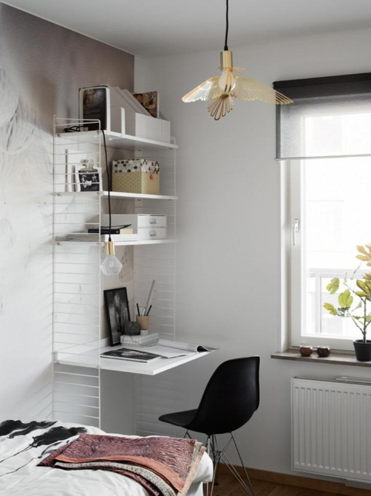 kis terek dolgozósarok home office inspiráció