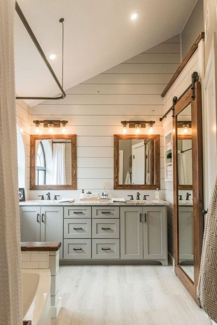 fürdőszoba rusztikus stílus rusztikus