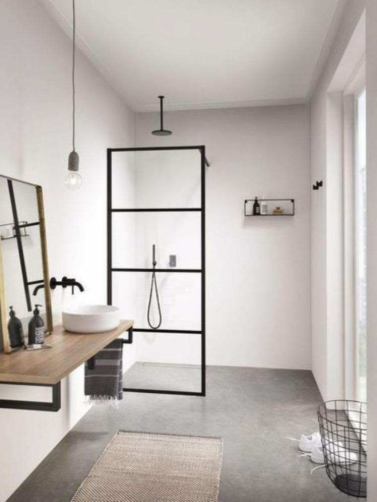 fürdőszoba skandináv stílus