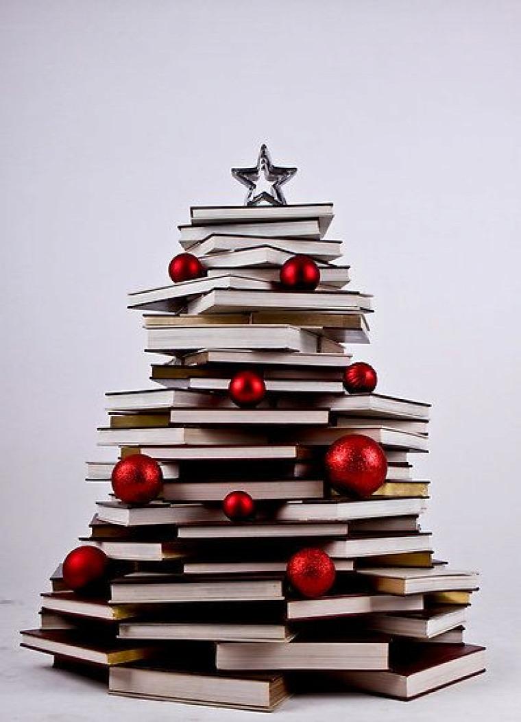 karácsony alternatív karácsonyfa inspiráció