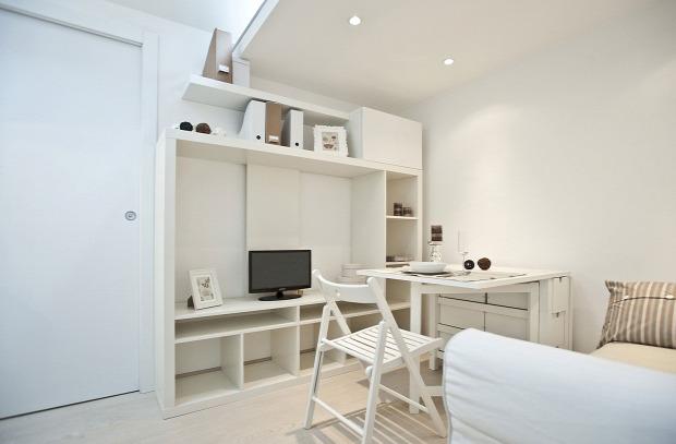 garzon kis lakás galéria skandináv stílus praktikus kialakítás