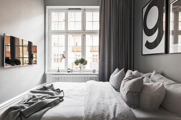 kis lakás kis terek skandináv stílus csajos