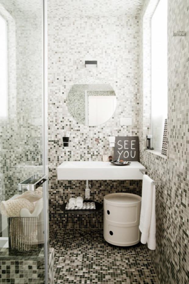garzon nagyvilág galériaágy mozaikcsempe téglafal