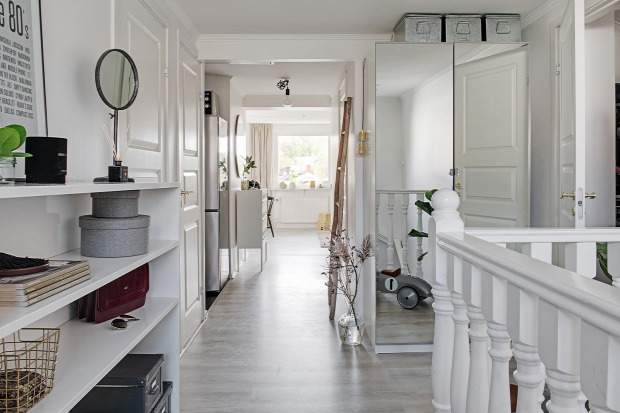 tetőtér skandináv stílus gyerekszoba otthonos