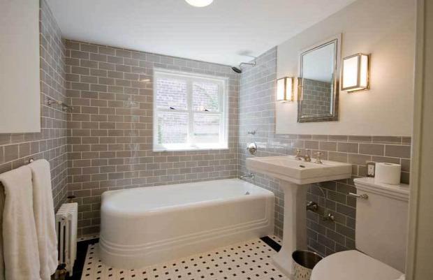 Inspiráló fürdőszobák felújításhoz - otthonos
