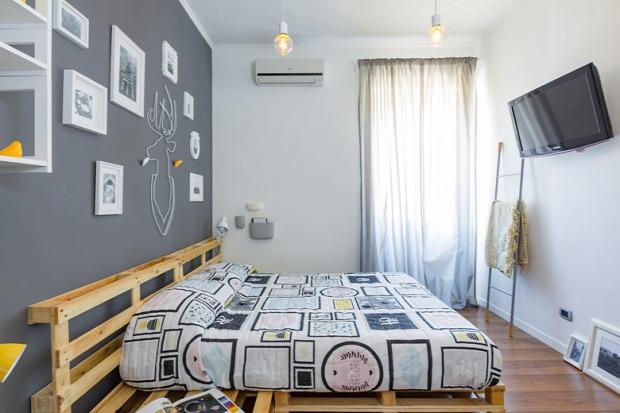 kis lakás nagy világ retró báj stílusos otthonos meleg színek