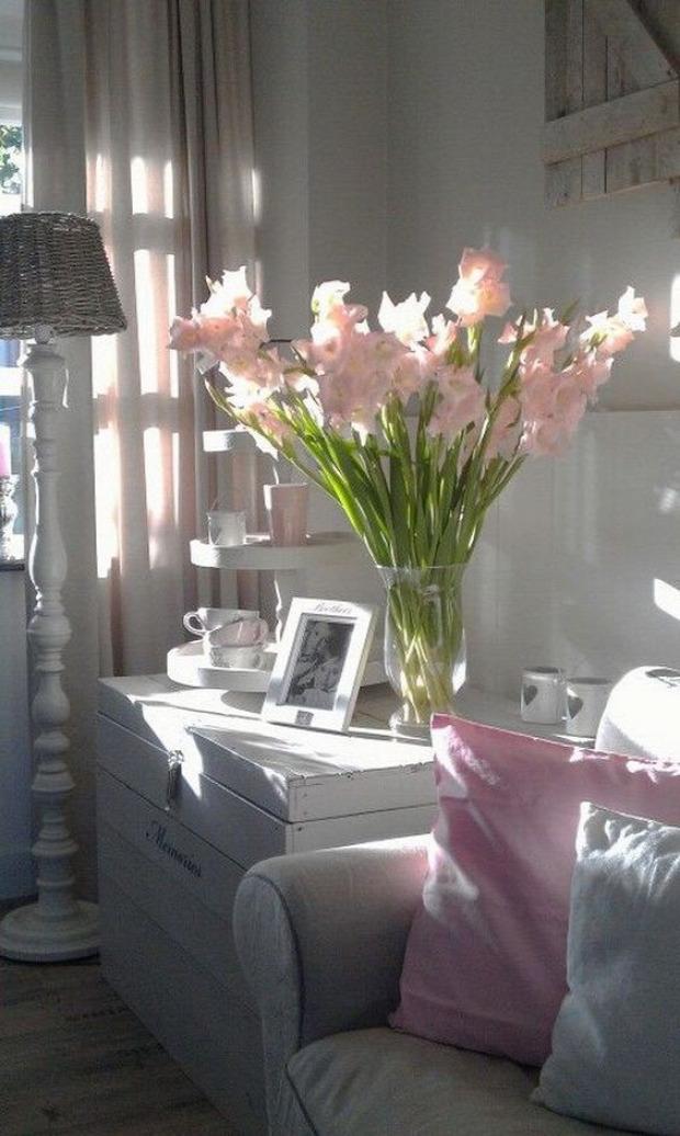 virág otthon dekoráció