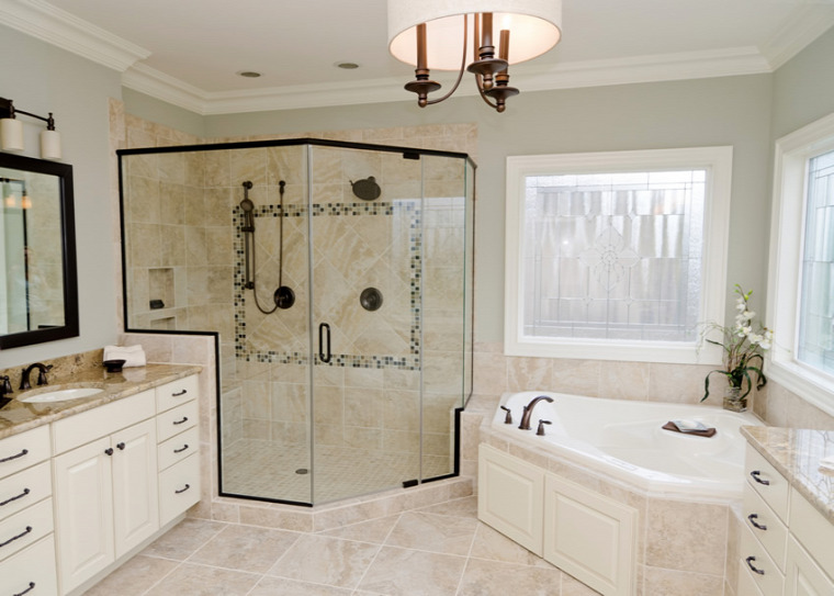 pezsgőszín elegancia luxus bézs fürdőszobák inspiráció