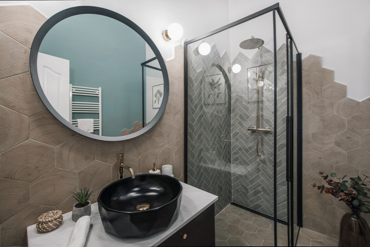 kis lakás kis terek modern skandináv stílus átalakítás felújítás