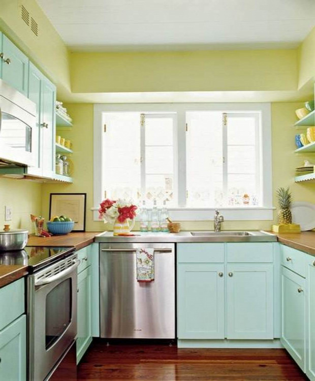 Best Paint For Kitchen Walls: A Legszebb Színes Konyhák
