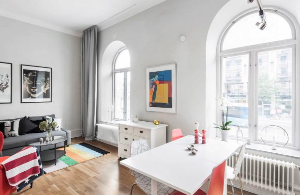 kis lakás praktikus kialakítás galériaágy helykihasználás