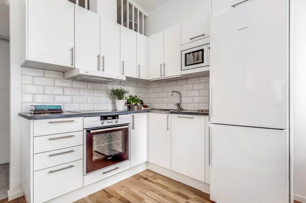 kis lakás praktikus kialakítás helykihasználás otthonos