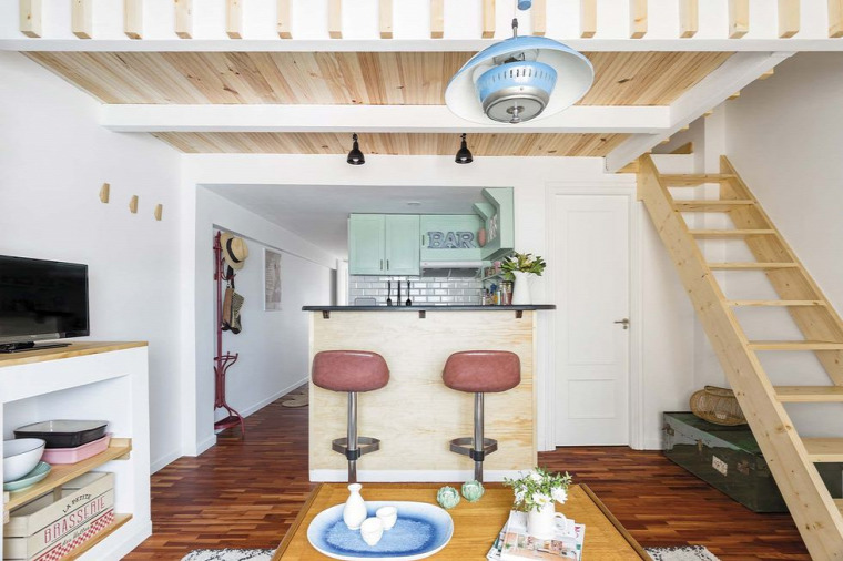 kis lakás kis terek galéria tetőtér