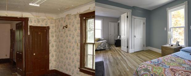 ház felújítás előtte-utána renoválás nagyvilág inspiráció