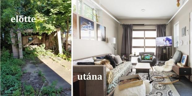 kis lakás átalakítás helykihasználás kreatív