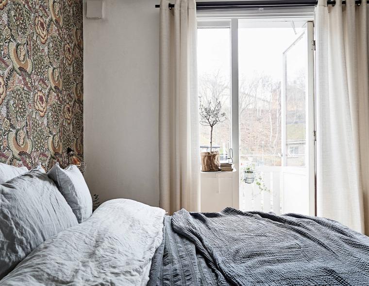 falak mintás falak virág minta otthonos merész inspiráció
