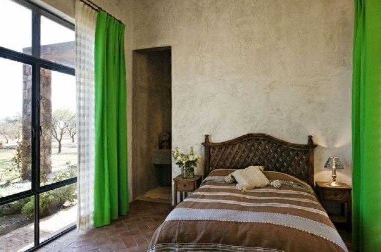 mediterrán stílus hálószoba
