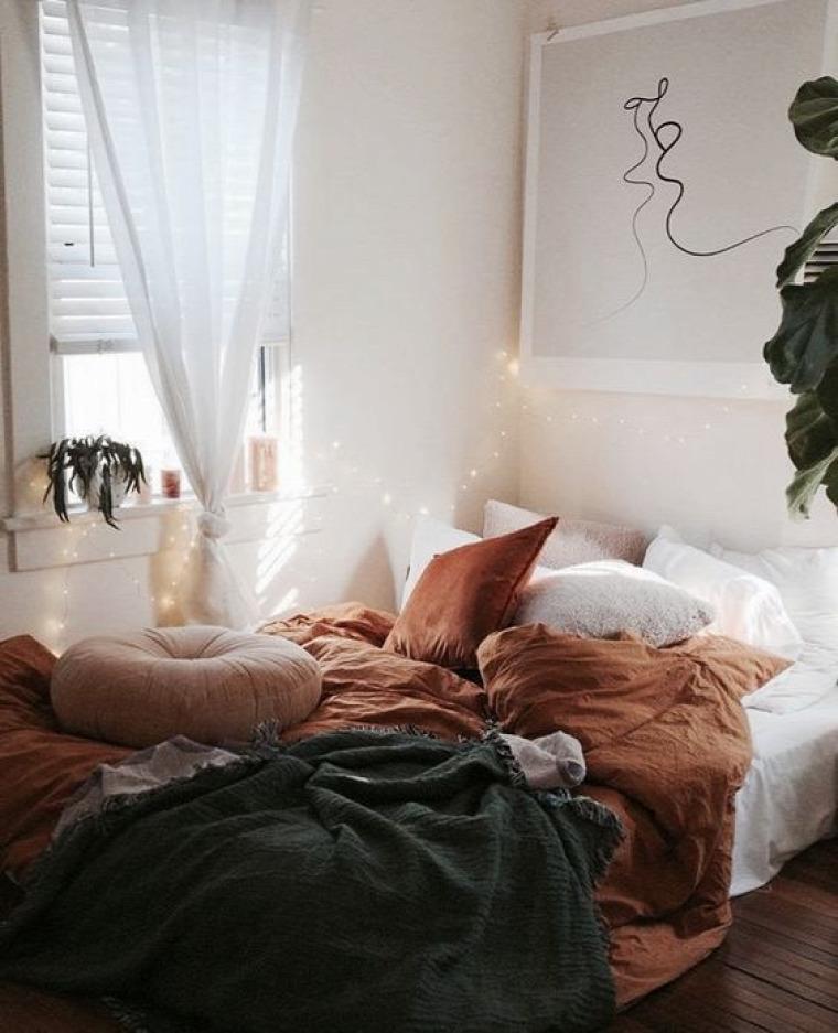 ősz inspiráció hálószoba