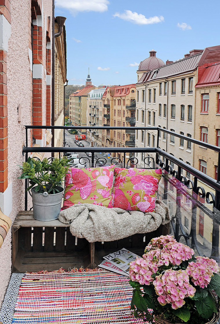 kis terek kis erkély erkély dekoráció
