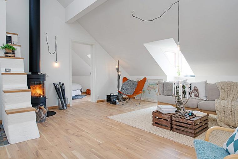 tetőtér  hálószoba