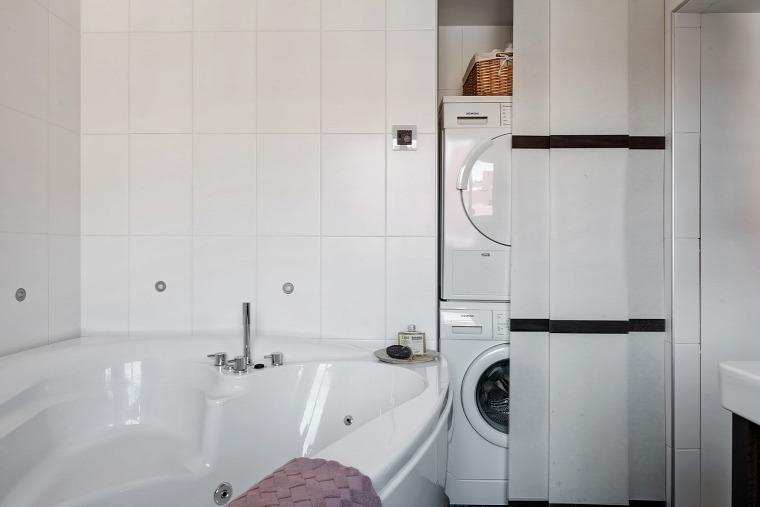 nagy lakás rusztikus stílus skandináv stílus otthonos fa padló