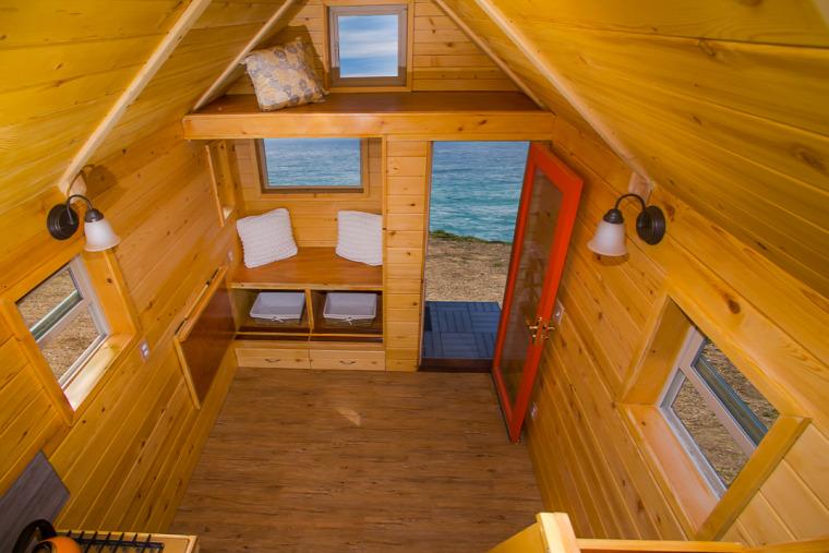kis terek egy légtér mobilház mini ház