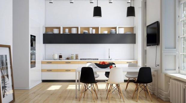 konyha minimalista dizájn csempék