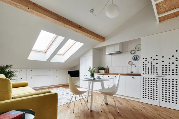 garzon tetőtér helykihasználás
