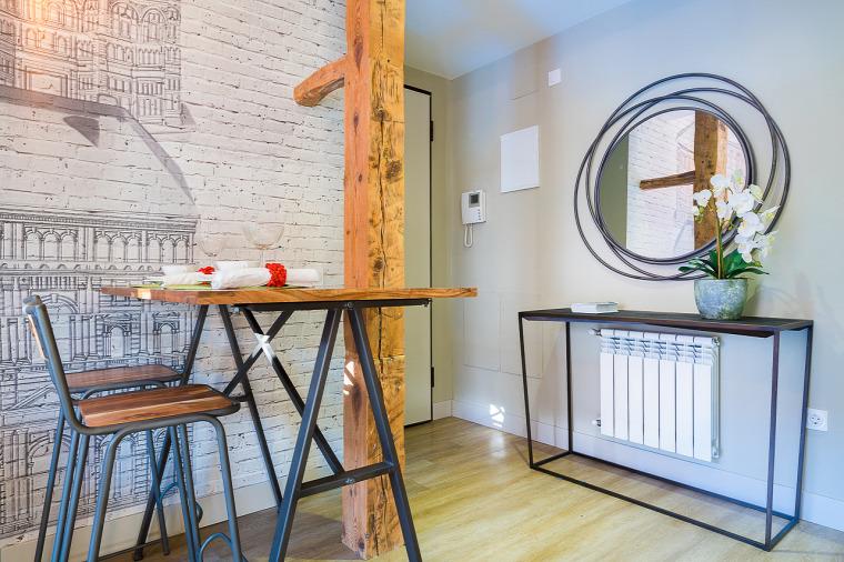 kis lakás garzon otthonos kis terek nagyvilág