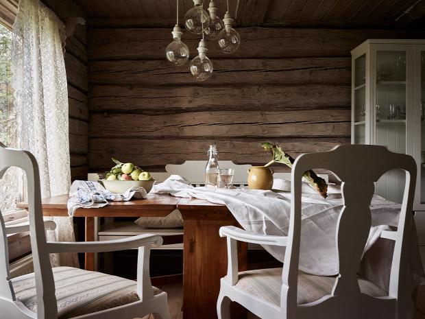 rusztikus stílus faház skandináv stílus otthonos