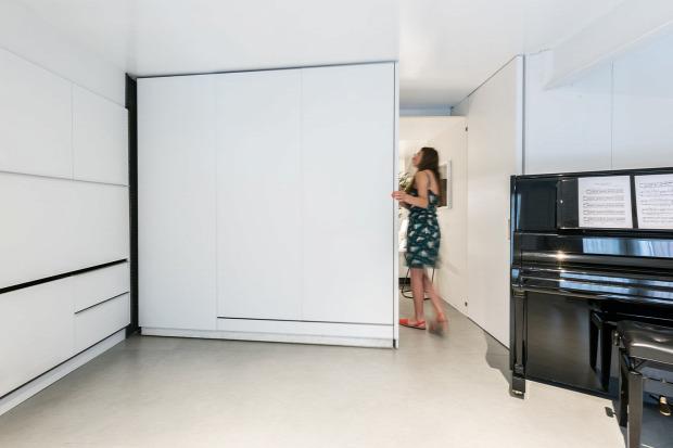 átalakítható lakás mobilfal helykihasználás