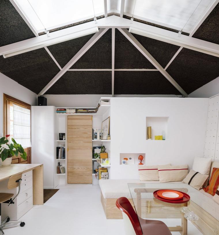 kis lakás kis terek kertes ház átalakítás felújítás