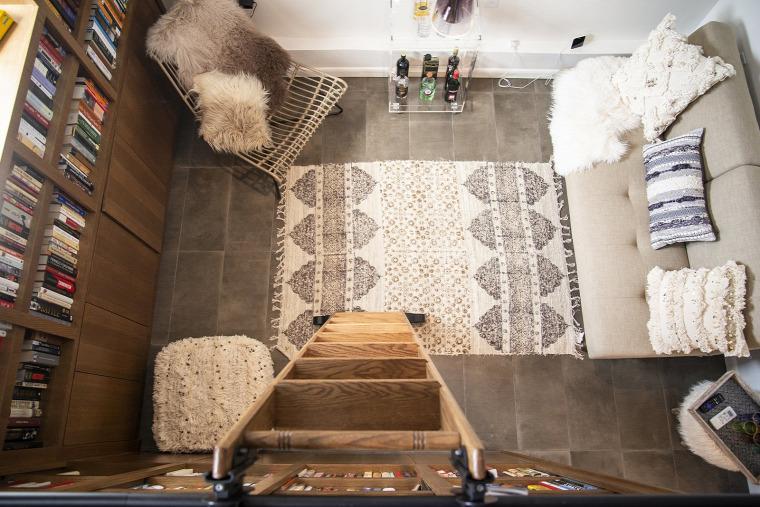 kis lakás kis terek átalakítás felújítás garázs alvógaléria