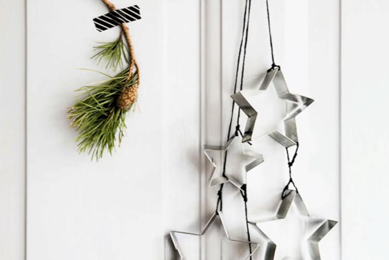 karácsony ünnepi dekor inspiráció skandináv stílus