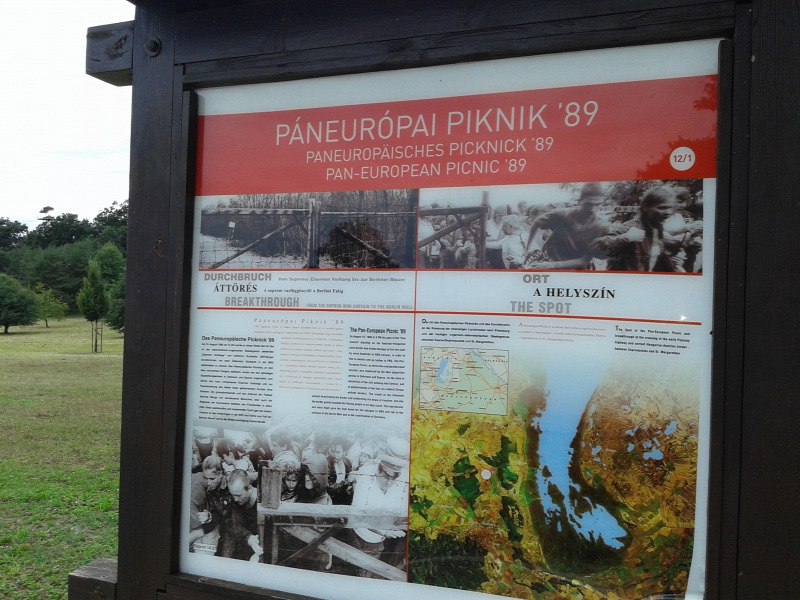 emlékhely politika történelem szobrászat Sopron