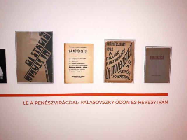 kiállítás irodalom avantgárd színház Kassák Múzeum Petőfi Irodalmi Múzeum Színháztörténeti Múzeum