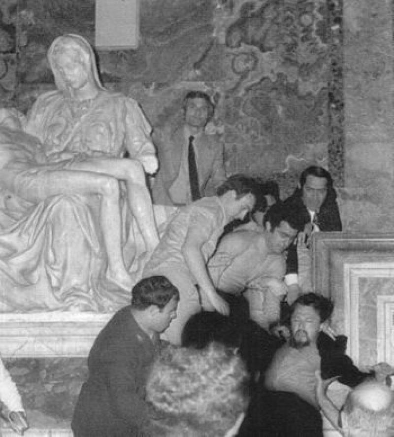 szobrászat restaurálás Vatikán