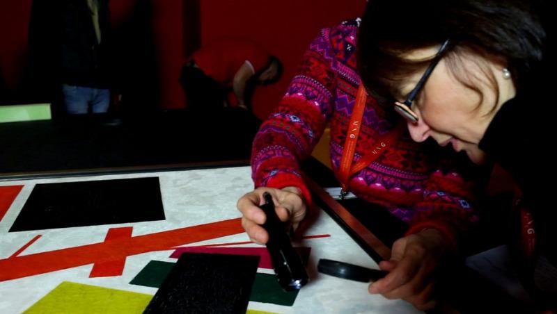 avantgárd Magyar Nemzeti Galéria kiállítás videó restaurálás