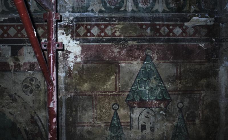 Szépművészeti Múzeum Román csarnok restaurálás építészet szobrászat