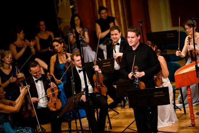 Baráti Kristóf az augusztus 13-i koncerten