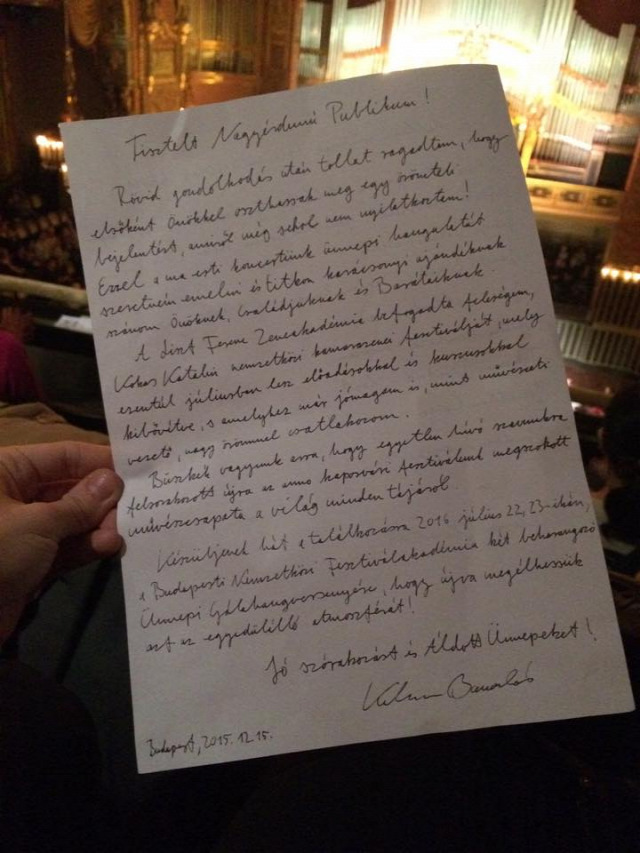 Kokas Katalin Kelemen Barnabás kamarazene Budapesti Nemzetközi Fesztiválakadémia Zeneakadémia