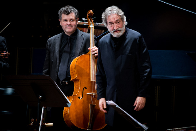 Máté Balázs és Jordi Savall