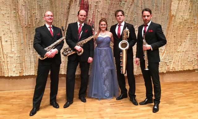 Szemere Zita Budapest Saxophone Quartet Kanyó Dávid Zeneakadémia Belinszky Anna
