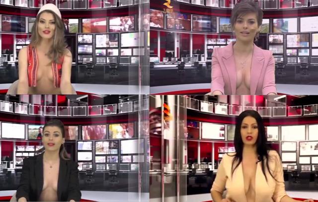TV híradó verseny újítás érdekes megjelenés lenge
