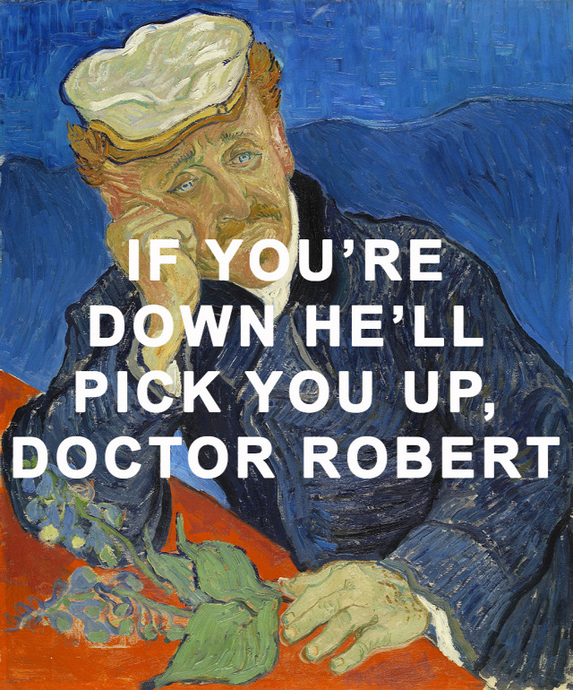 Ring My Friend I Said You Call Doctor Robert