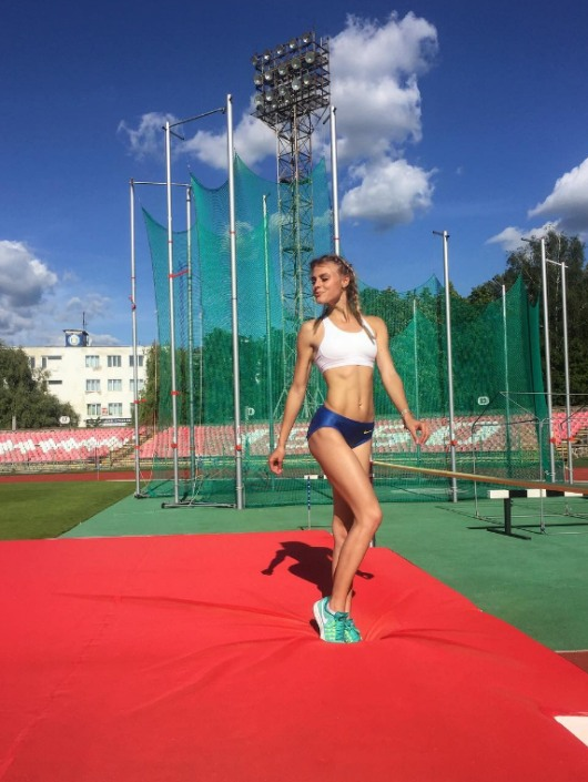 sportolónő