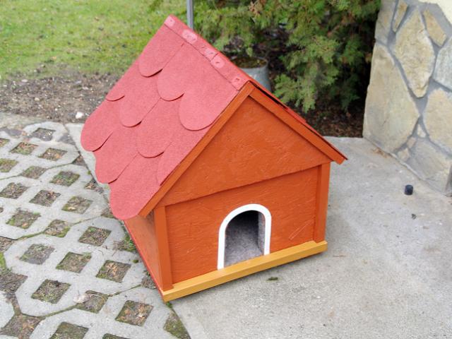 macskaház állatszállás kerti lak