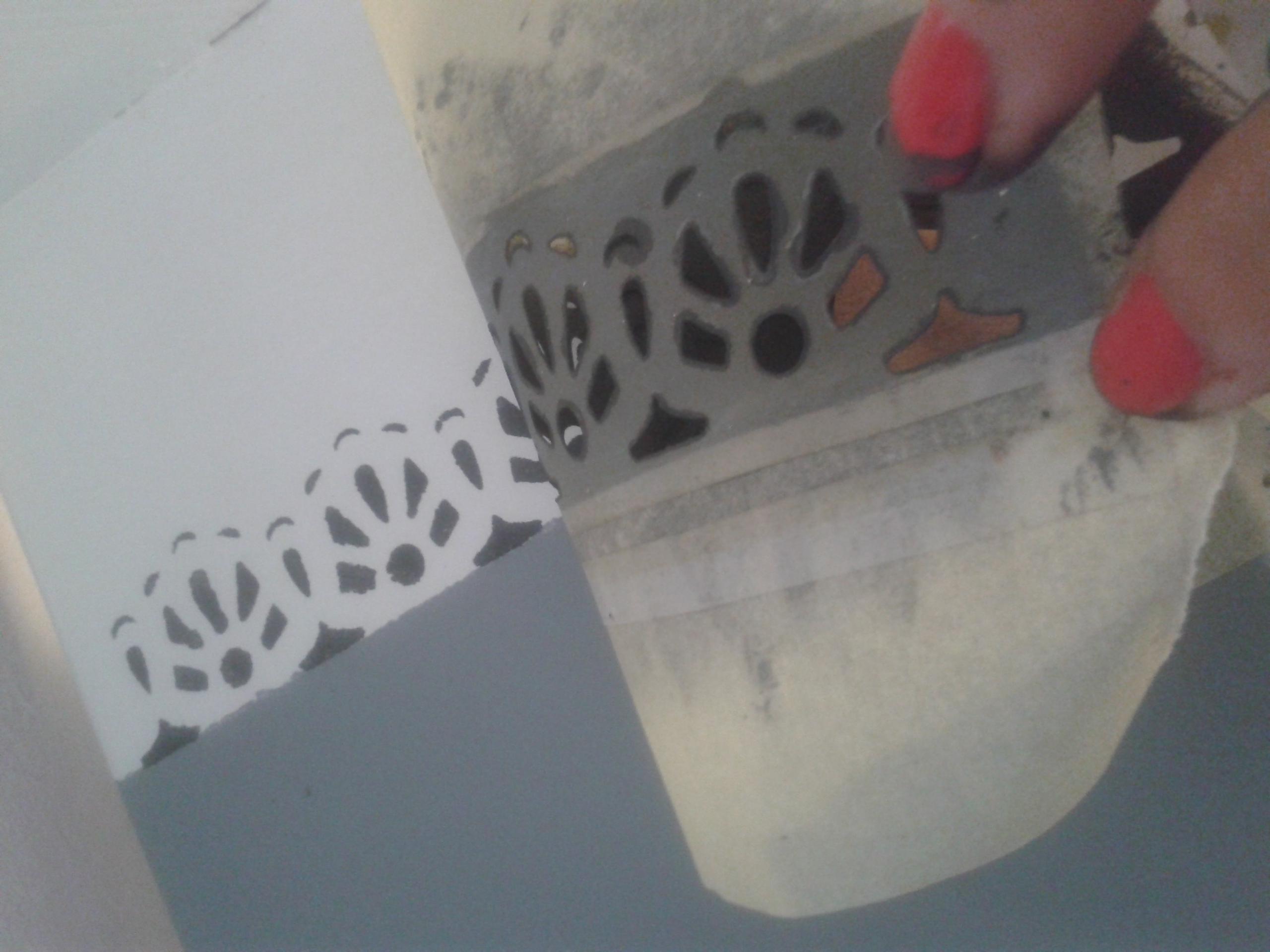 bútorfestés polifarbe trinát trilak obi lépcső lépcsőfestés DIY csináld magad falfestés