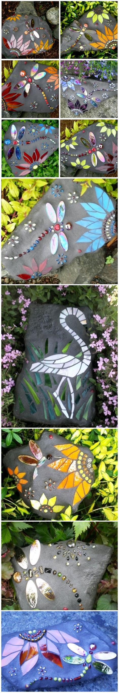 DIY csináld magad kert mozaik