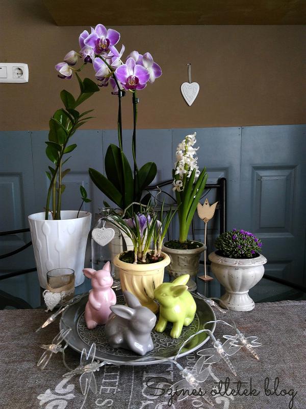 húsvét vintage dekorfesték dekor paint soft